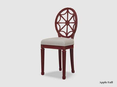 Apple Fall Anashara Dining Chair - Rust