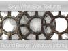 *Skye Whitebox Textures - 40 Round Broken Windows -  Full Perms Textures