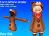 [Project Cosplay] Kuma Bear Suit for Kemono