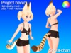 Serval chan bento tail2