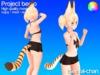 Serval chan bento tail