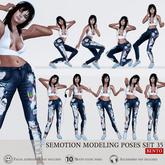 [Box] SEmotion Female Bento Modeling poses Set 35