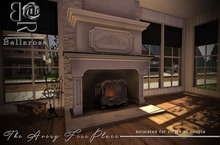 [BR] Avery Fireplace Animated for Single/Couple