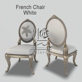 [BR] French Chair White with Chair Dance