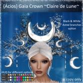 {Acios} Gaia Crown ~Claire de Lune~