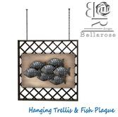 [BR] Hanging Trellis & Fish Plaque