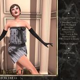 Maraschino - Lois Dress - Silver