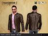 Hank Leather Jacket - Brown