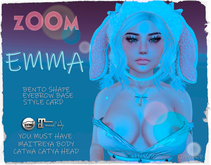PINK*PUDIM - Emma Bento Shape for Maitreya and Catya Head!!