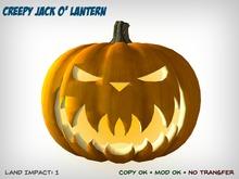 Creepy Jack o' Lantern – Turns to Face Nearest Avatar