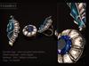 KUNGLERS - Bariska rings - Sapphire