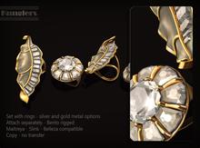 KUNGLERS - Bariska rings - Crystal