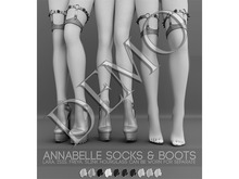 DEMO - Pure Poison - Annabelle Socks & Boots