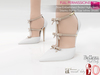 MI962804 Bow-Embellished Bridal High Heels Stiletto Pointy Toe
