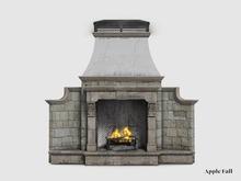 Apple Fall Hamptons Outdoor Fireplace