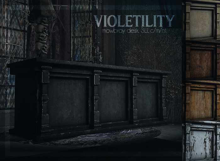 Violetility - Mowbray Desk [FATPACK]