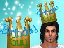 Birthday Guy Crown