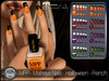 - MPP - Maitreya Finger & Toe Nails HUD - Halloween French