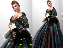 Promo!!!FaiRodis Shining dress pack M size