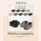 [M] Penny Loafers - Fatpack