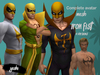 Complete Avatar Iron Fist 4 versions mesh (Bento/Fitted mesh)