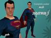 Complete Avatar Superman JL mesh