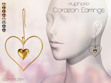 Euphorie - Corazon Earrings