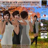 SnB Fashion - Ruth Black & White Dress
