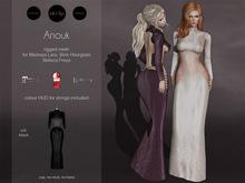 S&P dress Anouk black (wear to unpack)