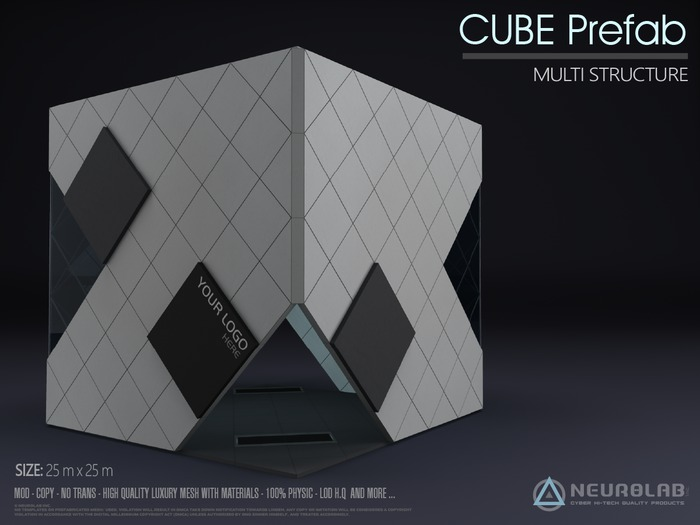 The CUBE Prefab (Multipurpose) [Neurolab Inc.]