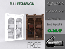 .::QUTWORLD Old bookshelf::.FP
