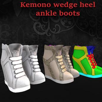 [Image: Kemono_booties_yellow_banner.jpg?1540326650]