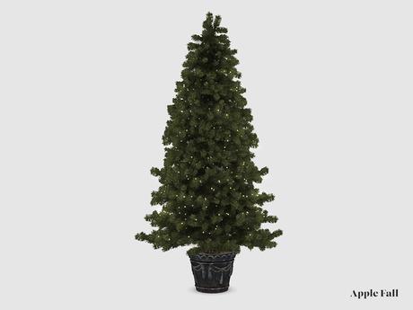 Apple Fall Heritage Christmas Tree - Spruce Green