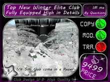 * New * Top Elite Winter Club * FULLY EQUIPPED *