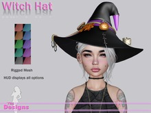Witch Hat With Hud