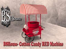 BSHouse- Cotton Candy RED  Machine- BOX