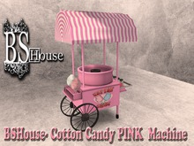 BSHouse- Cotton Candy PINK  Machine- BOX