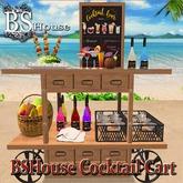 BSHouse- Cocktail Cart