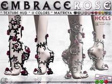 0o Morph - embraced Rose HEELS (Maitreya)