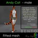 Furry Andy - Andy Cat - Male