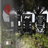{YD} Chalkboard wedding