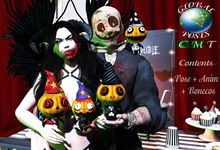 .:GB POSES:. *POSE 160* Couple Halloween