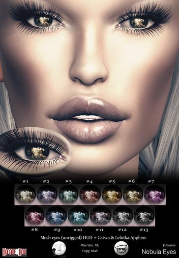 Nebula Eyes pack by Madame Noir