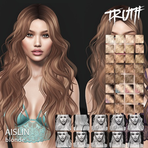 TRUTH Aislin (Fitted Mesh Hair) - Blonde