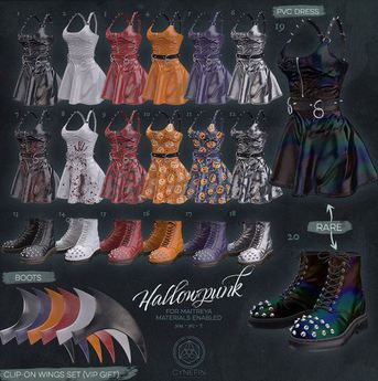 ~ cyf ~ {HP06} PVC Dress (silver)