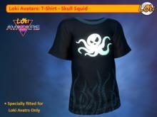 Loki Avatars TShirt - Skull Squid