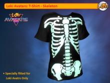 Loki Avatars TShirt - Skeleton