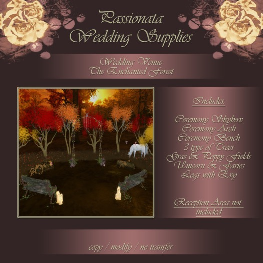 Passionata Wedding Venue - The Enchanted Forest
