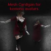 !!PF!! Kemono Mesh Cardigan