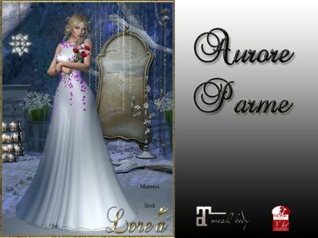 LE-Aurore Dress Parme